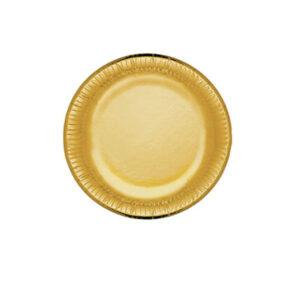 Piatto Carta           Pz 10 Cm 19 Party Gold Bibo