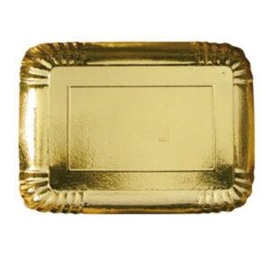 Vassoio Carta Oro               Cm 38x29 Pz 2 Bibo