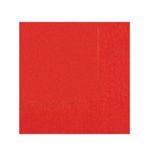 Tovagliolo             Pz 40 Festacolor Rosso Bibo